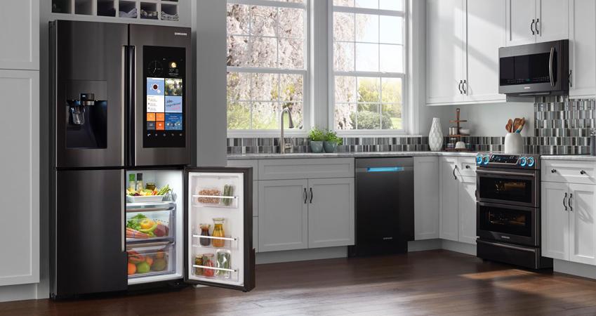 삼성전자 메탈 냉장고 , 메탈 오븐 , 메탈 식기세척기