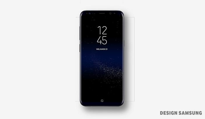 갤럭시 S8 화면은 사용자가 처음 접하는 올웨이즈 온 디스플레이(Always On Display)에서부터 잠금 화면(Lock), 홈 화면(Home Screen)에 이르기까지 은하수 효과가 자연스럽게 이어지며 끊김 없이 전환됩니다.