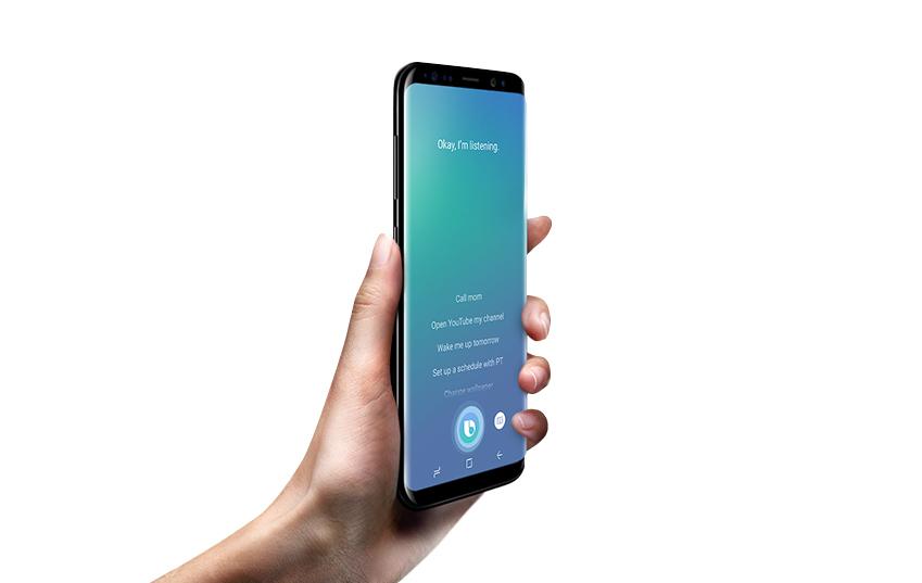 빅스비 지원 앱에서 거의 모든 기능을 음성으로도 실행할 수 있도록 하는 게 삼성전자의 향후 계획입니다