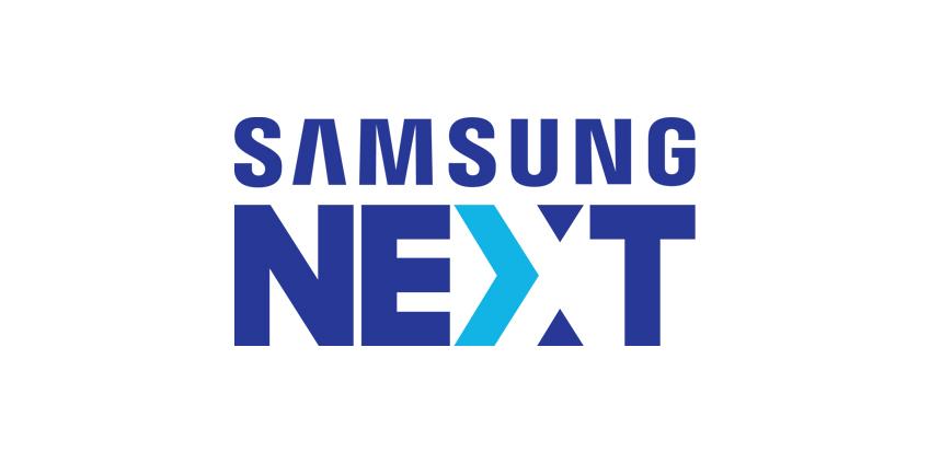 SAMSUNG NEXT 로고, 삼성넥스트 로고는 혁신을 상징하는 화살이 삼성전자를 상징하는 열린 문을 통과하는 모습을 형상화된 것이라며 이는 위대한 아이디어를 상품으로, 상품을 성공 사업으로 발전시키려는 삼성넥스트의 사명을 반영할 뿐 아니라 지원 사업의 규모 확대를 지원함으로써 혁신 기업들이 삼성전자 생태계를 활용하는 동시에 해당 생태계 발전에 기여하게 한다는 임무를 내포한다