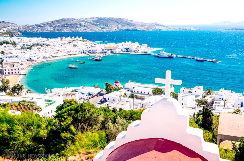 로메인 원산지인 그리스 모습…