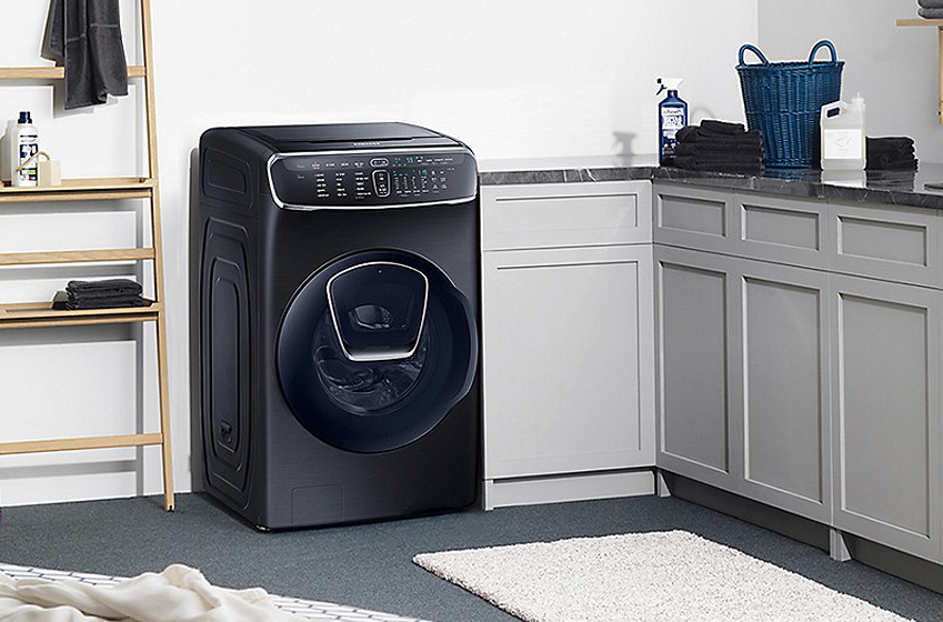 국내 유일 일체형 올인원(all-in-one) 세탁기 '플렉스워시'의 판매가 시작됐다