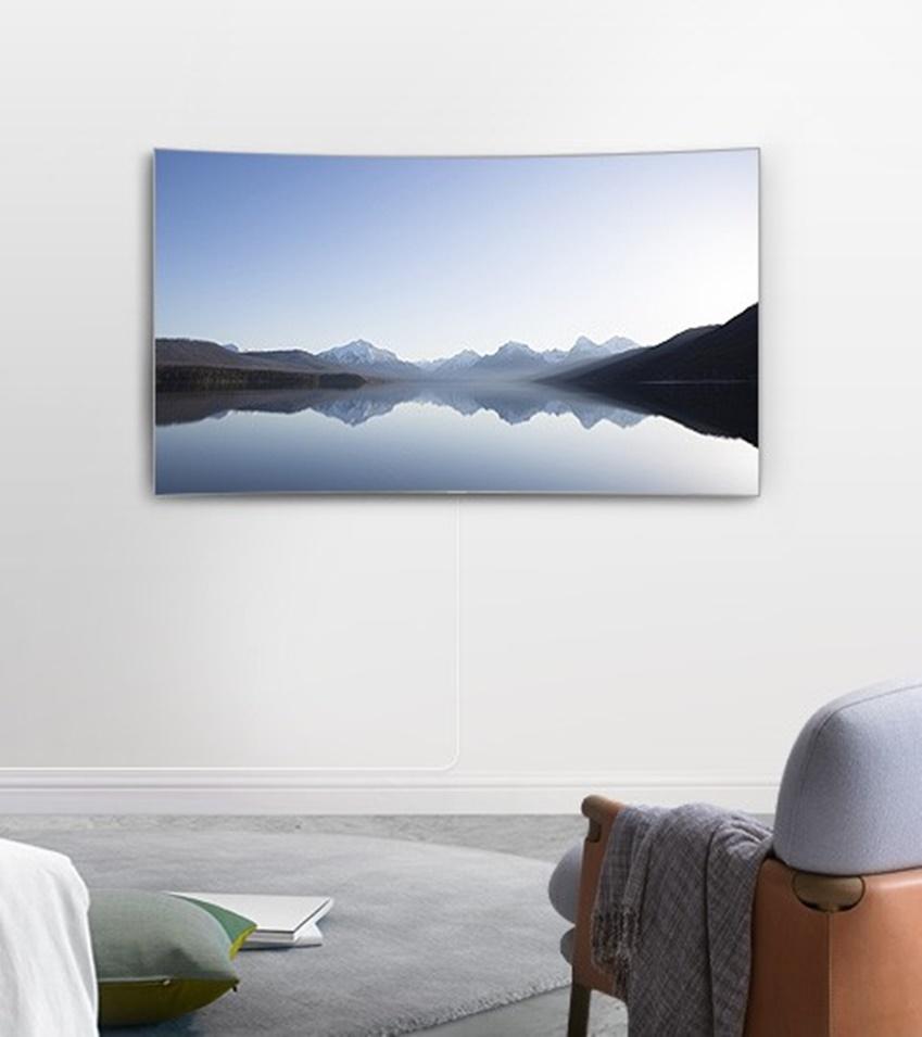 일상속에 녹아들어 있는 QLED TV 모습