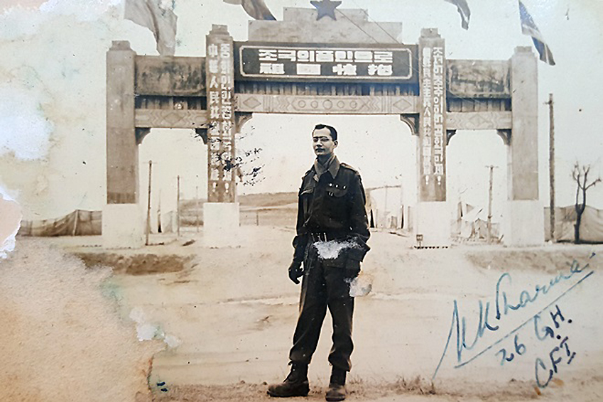 비크람씨의 할아버지 고팔라스와미씨 사진