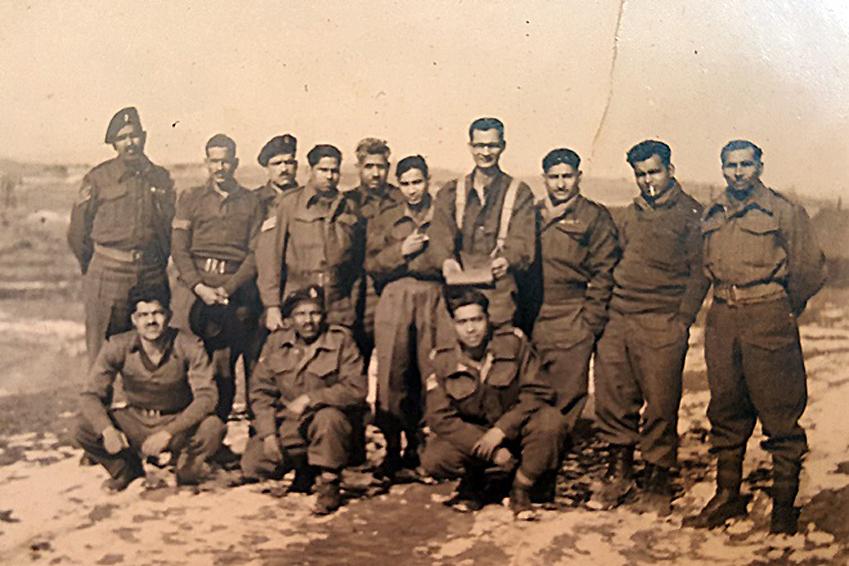 6·25전쟁 당시 한국에 파병됐던 CFI 여단 소속 인도 군인들의 모습입니다