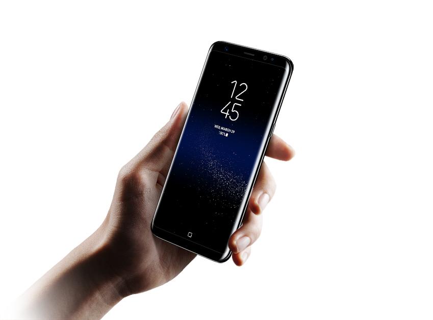 갤럭시 S8은 기기 전면의 80% 이상을 화면으로 채운 일명 '인피니티 디스플레이(Infinity display)'로 새로운 스마트폰 디자인 시대를 열었습니다