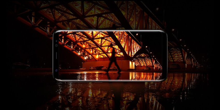 갤럭시 S8 후면 카메라엔 이전 제품에서보다 향상된 이미지 신호 처리 알고리즘이 적용돼 한층 선명해진 사진을 얻을 수 있습니다