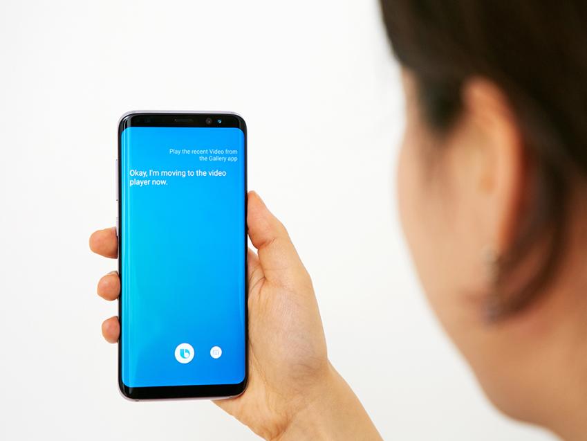 갤럭시 S8 사용자는 빅스비를 활용, '나만의 UX'를 스스로 만들어낼 수 있습니다