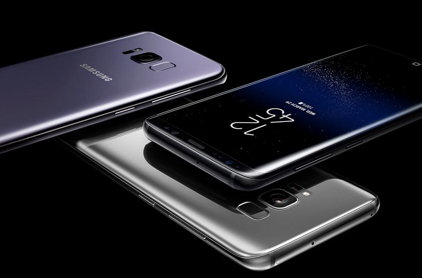 갤럭시 S8과 갤럭시 S8+