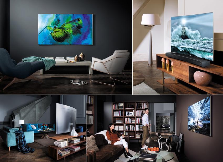 사용 편의성의 고려한 QLED TV