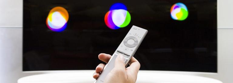"""단순美 원리모컨은 """"QLED TV의 또 다른 묘미"""""""
