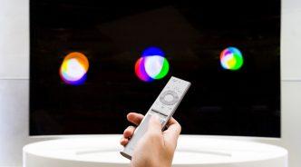 단순함 속의 정교함, QLED TV 원리모컨