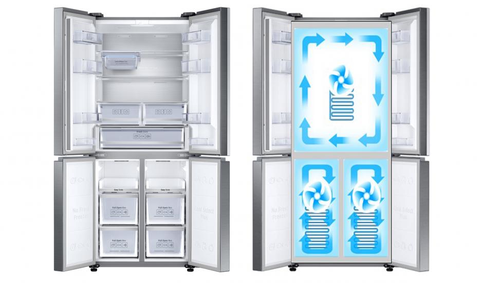 슬림 T-타입 냉장고