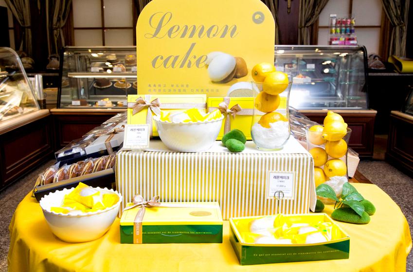 권형준 셰프가 개발한 레몬 케이크