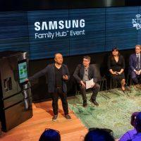 삼성전자, 새로운 주방문화의 기준을 제시하는 2017년형 '패밀리허브' 뉴욕 체험 행사 개최
