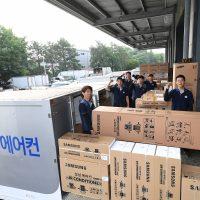 삼성전자, 바람 없이 시원한 '무풍에어컨' 신속 배송·설치