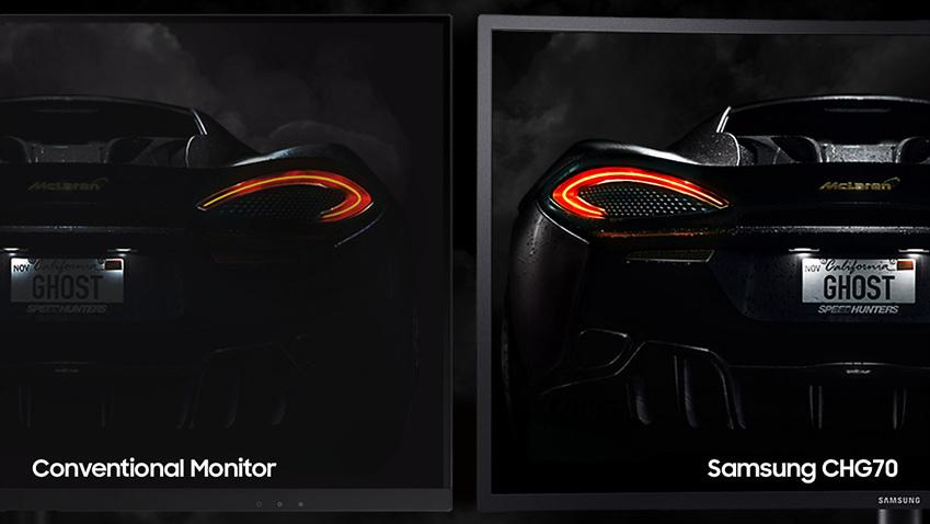 conventional Monitor, Samsung CHG70