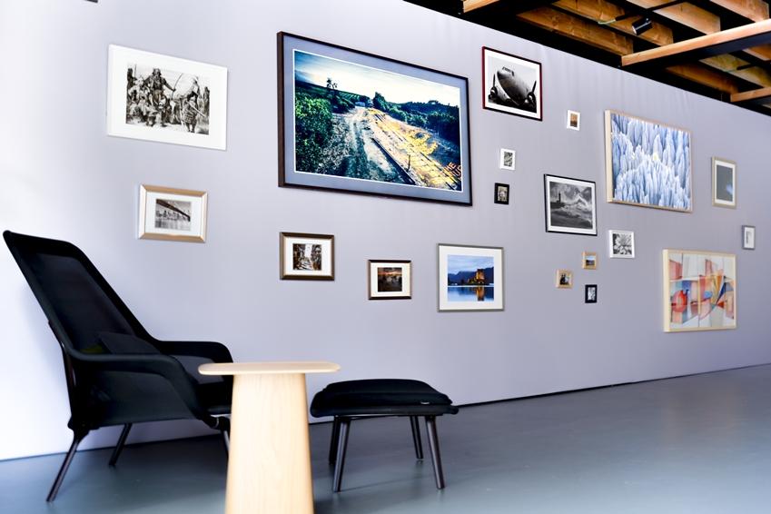 벨기에 앤트워프 갤러리에서 열린 삼성 더 프레임 론칭행사