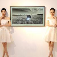 """""""아름다운 그림에 취해 벽 속으로 빠져든다"""" 삼성 '더 프레임' 중국에서 '화·벽'으로 재탄생하다"""