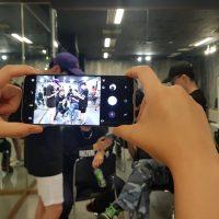 추억박제 프로젝트, 갤럭시 S8으로 촬영한 댄스 비디오