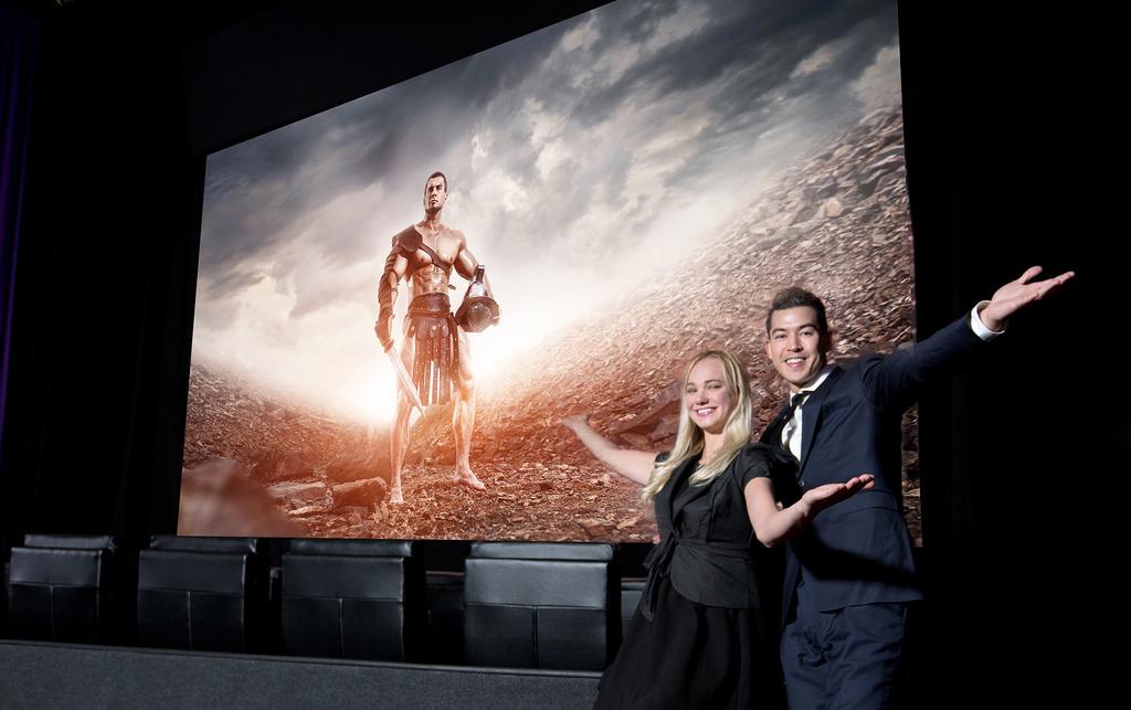네마크(Cinemark) 극장에서 세계 최초로 극장 전용 LED 스크린 '삼성 시네마 스크린' 공개