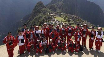 삼성전자, 고대 잉카 제국 수도에 '삼성 스마트스쿨' 개소