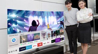 삼성전자, 스마트 TV에 음악 식별 검색서비스 '샤잠' 기능 추가