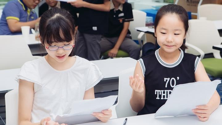 주니어소프트웨어창작대회에 참가한 아이들