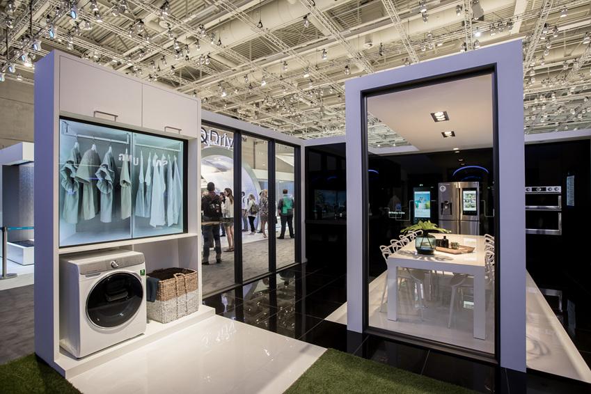 '스마트 홈(Smart Home)'  전시존