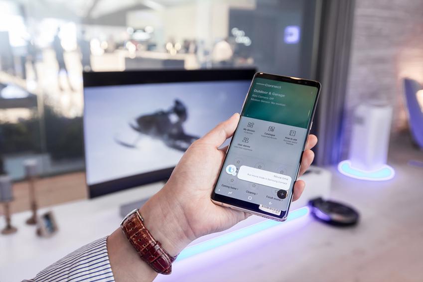 '삼성커넥트'를 더해 스마트 홈 구축