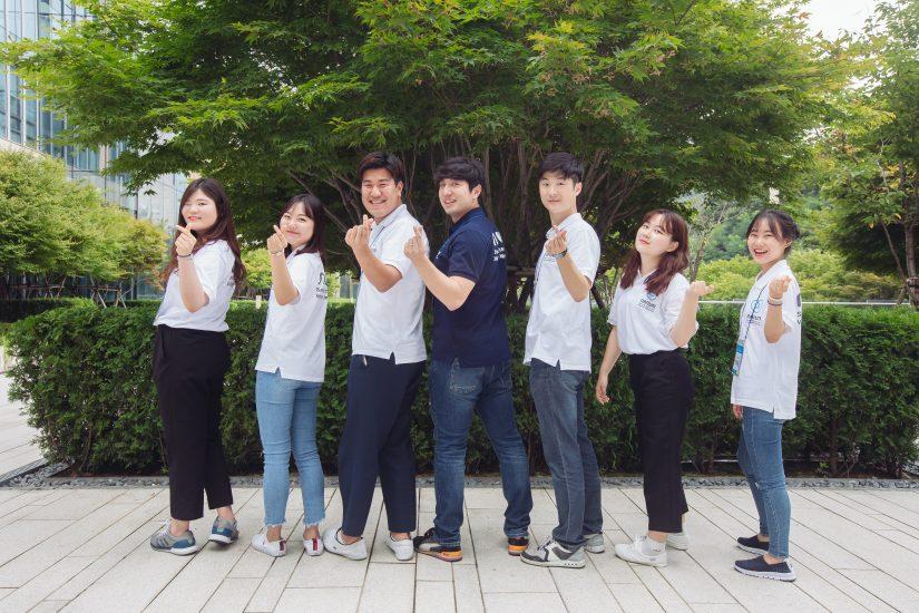 팀 단체사진