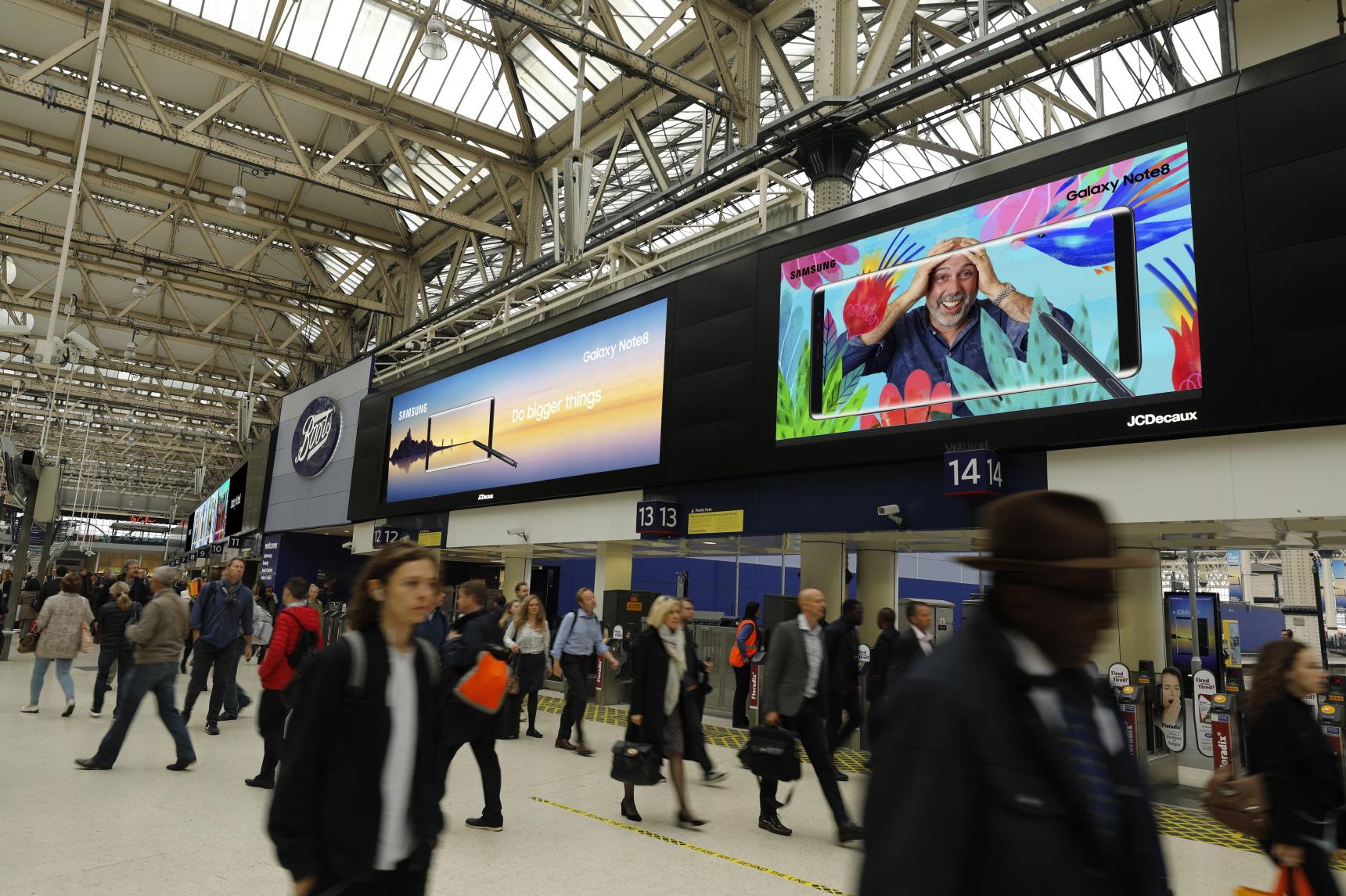 영국 런던 워털루역(Waterloo Station)