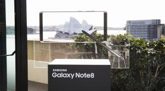 삼성전자, '갤럭시 노트8' 호주서 22일 출시
