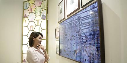 필리핀 최고의 인테리어 디자인 스쿨과의 협업, '더 프레임 전시회'