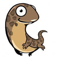 함께 그린 green 그림_제2화 '약속할게, 표범장지뱀!'