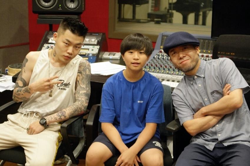 사진 왼쪽부터 비트박서 투탁, 펜 비트 연주자 최진영, 일본 음악가 터커.