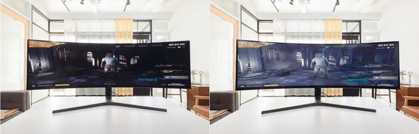▲ 블랙 이퀄라이저 작동 전(사진 왼쪽), 후(사진 오른쪽)