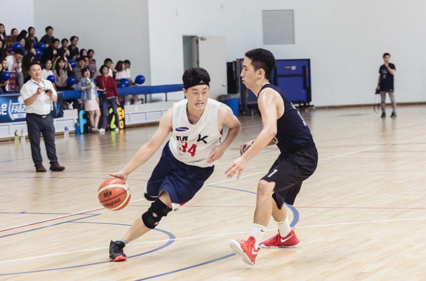 ▲ 9월 22일에 열린 삼성전자 2017 동호회 Sport Festival 'RED'배 농구대회 결승전
