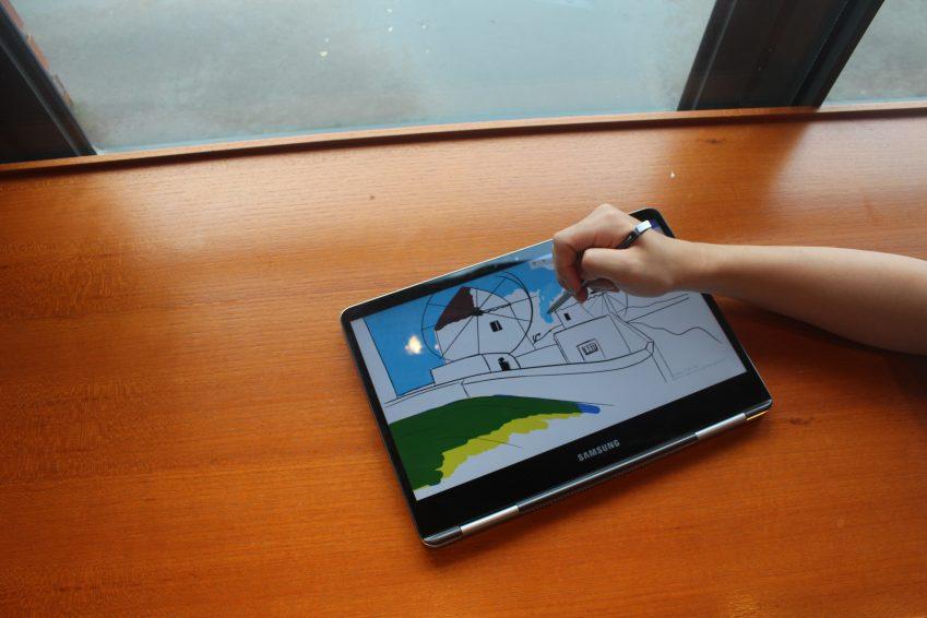 노트북 9 Pen 그리기
