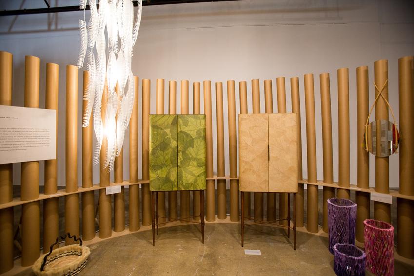 ▲ 태국의 풍부한 생산기반과 전통 수공예기술에 현대적인 디자인 감각이 더해진 국제예술공예지원센터(SACICT)의 제품들