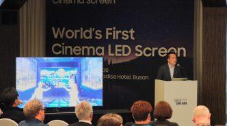 삼성전자, 부산국제영화제서 '시네마 LED가 가져올 영화관의 미래' 주제로 세미나 개최
