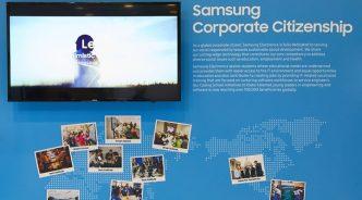 개발자 콘퍼런스에서 만난 삼성전자 글로벌 사회공헌 활동