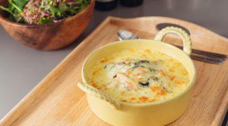명절 음식의 맛있는 변신, 직화오븐으로 잡채그라탕•생선커틀릿 만들기!