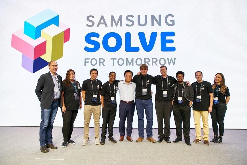'솔브 포 투모로우(Solve for Tomorrow)'의 올해 우승자들, SAMSUNG SOLVE FOR TOMORROW