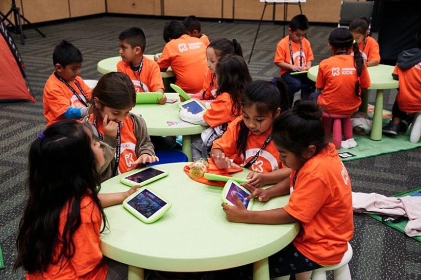 5~10세 어린이들이 코딩에 대해 배워보는 코드 잼(Code jam, 프로그래밍 경진대회)