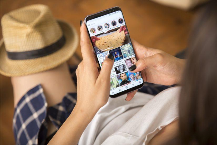 인스타그램 삼성스마트폰