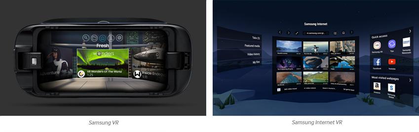 samsung VR, samsung Internet VR