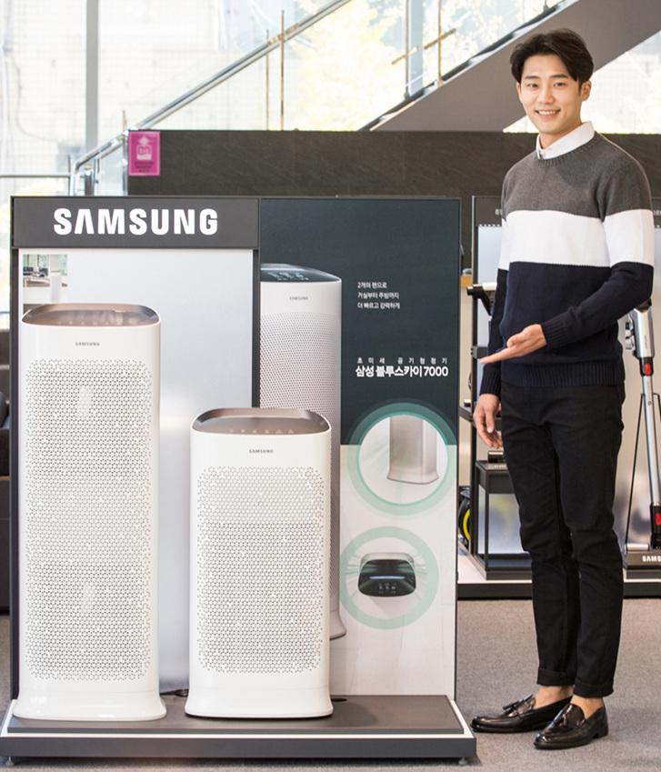 삼성전자 2018년형 공기청정기 블루스카이 신제품 출시