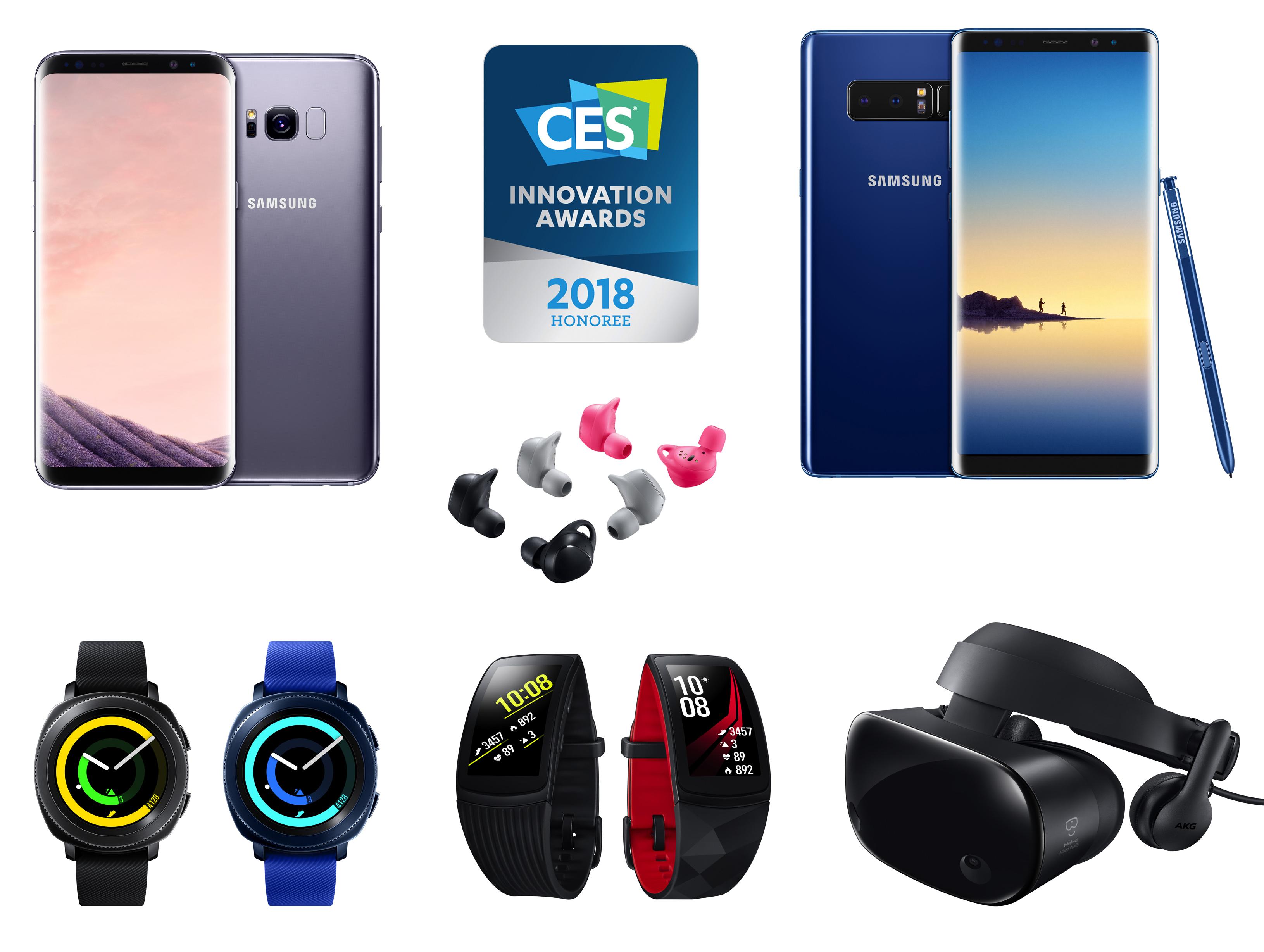 CES 혁신상 수상한 삼성전자 제품들