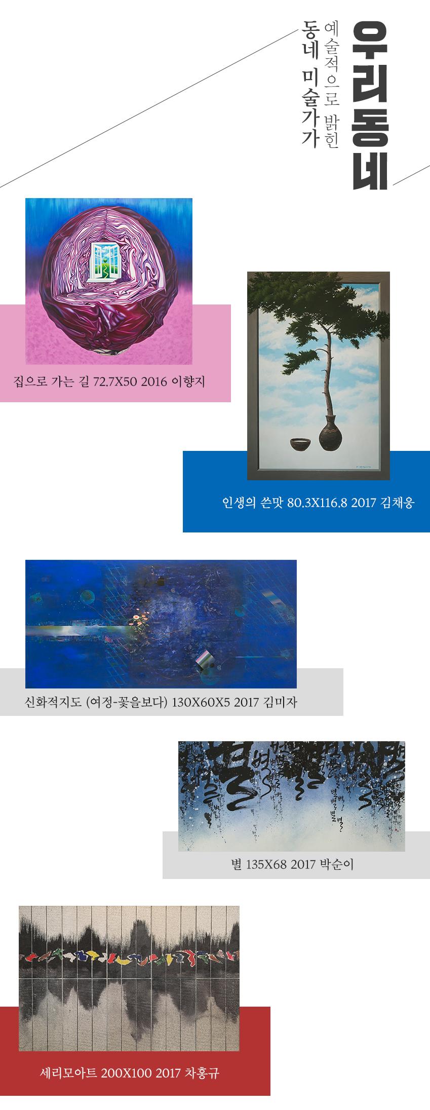 화룡점정에 소개된 작품들